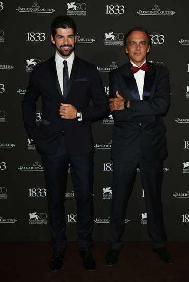 El actor Miguel Ángel Muñoz y Paco Arango, creador de la Fundación Aladina.