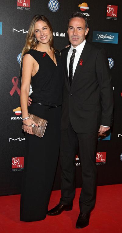 Una pareja encantadora, mediática y próxima, la modelo y presentadora Martina Klein, y el ex tenista Álex Corretja.