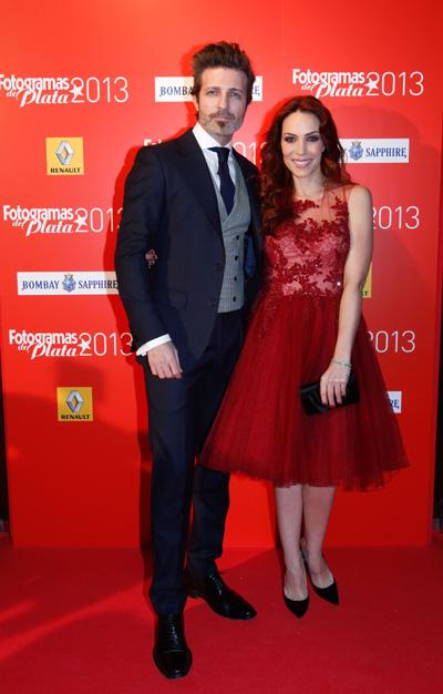 Jesús Olmedo y Nerea Garmendia, una de las parejas más encantadoras y guapas del cine español.