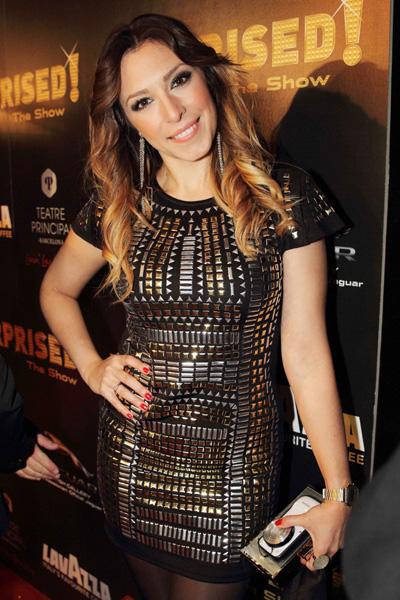 La cantante Gisela, que actuó en el programa de TVE donde se escogió al representante de Eurovisión.