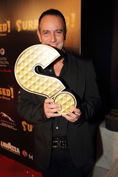 El televisivo Victor Sandoval