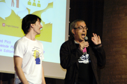 Alfred Picó va trobar un voluntari per mostrar l'eficàcia d'El Mètode Picó per parlar en públic