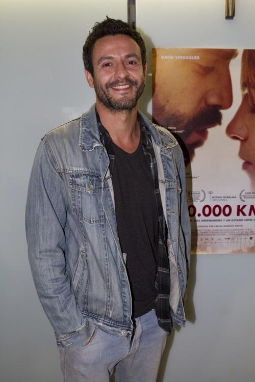 El conocido actor Isaak Ferriz no se quiso perder el preestreno en el Comedia