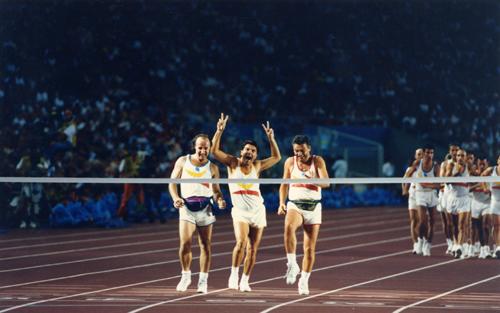 Moment mític, la cerimònia de cloenda dels Jocs Olímpics de Barcelona '92, que van veure mil·lions de persones d'arreu del món.