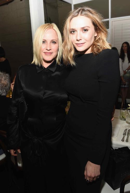 Patricia Arquette y Elizabeth Olsen. Foto - Prensa Grey Goose Vodka.