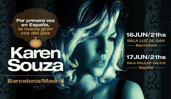 Karen Souza - Shows España copia