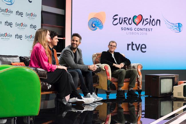Amaia, Alrfed, Roberto Leal y Raul Gomez.jpg