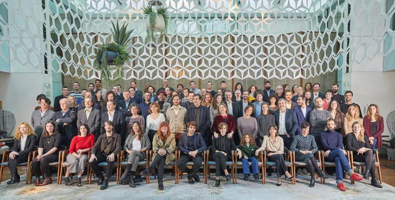 Foto grup nominats ©Xavier Torres-Bacchetta