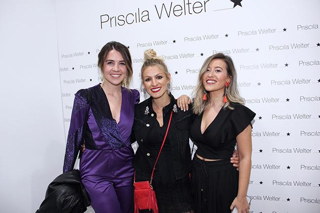 Andrea Guash, Priscila Welter y una amiga (Copiar)