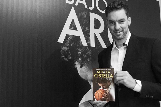 Pau Gasol y su libro