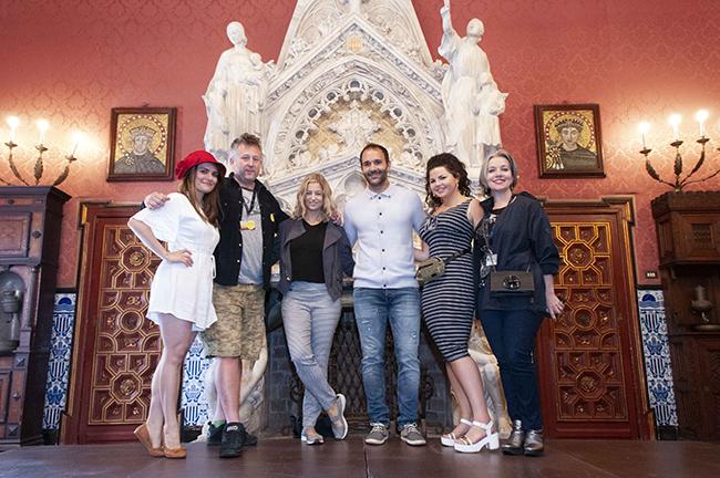 Black Flowers director y actores en el Palau Maricel Sitges Barnafotopress.jpg copia