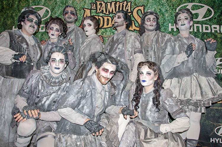 La Familia Addams Barnafotopress 2