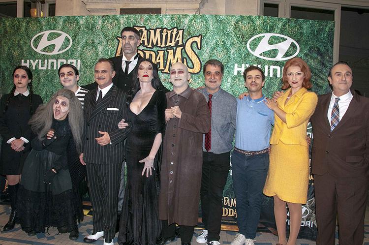 La Familia Addams Barnafotopress