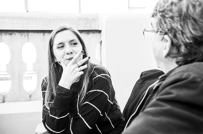 Sara Diego en un momento de la entrevista Barnafotopress.jpg copia