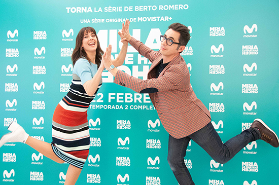 Mira lo que has hecho photocall Movistar Barnafotopress