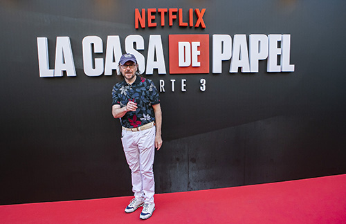 Netflix Presents 'La Casa De Papel' 3rd Season In Madrid